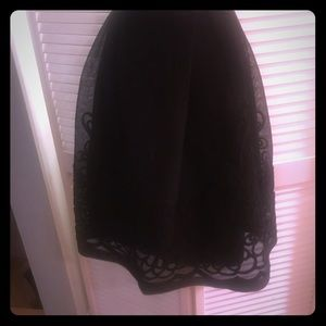 Dresses & Skirts - Detailed poof skirt with detailed lace overlay